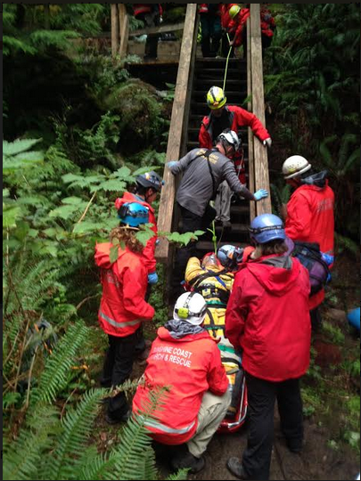 SCSAR Rope Rescue